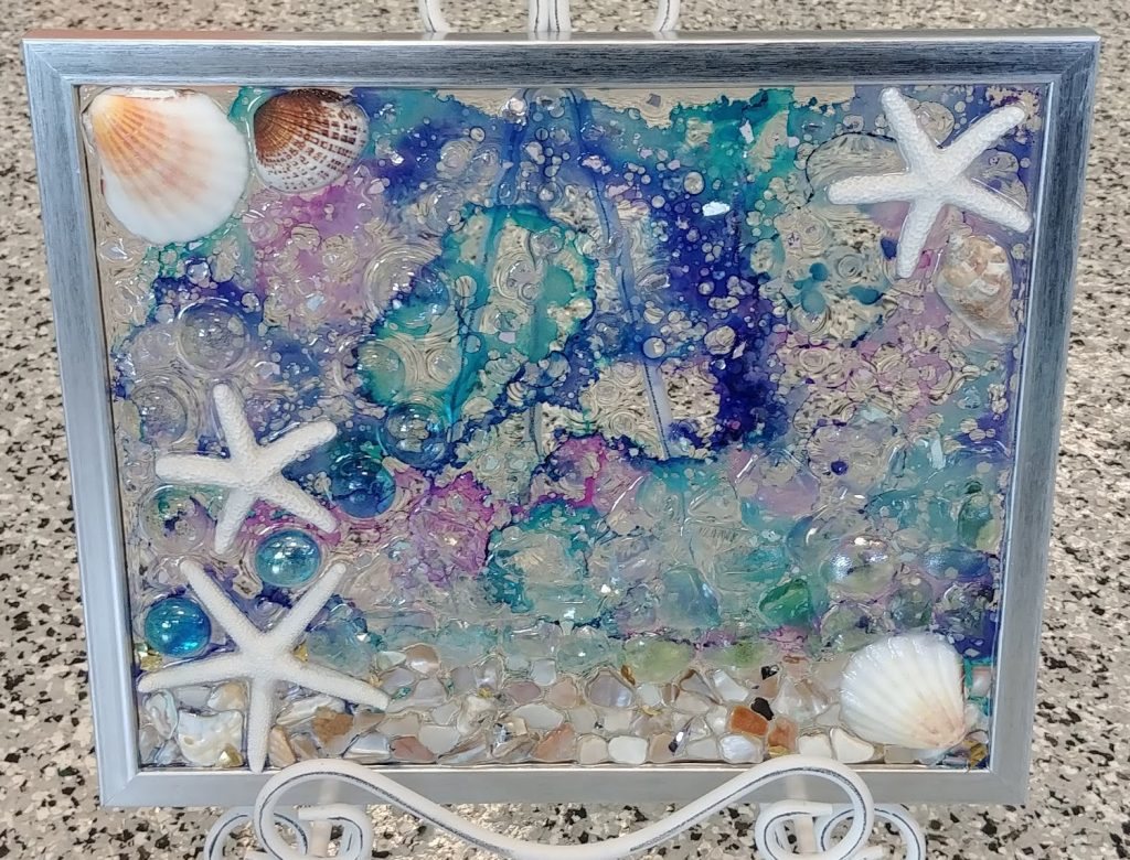 Sea Glass Frames 1 9 2019 Wf Creatively Uncorked