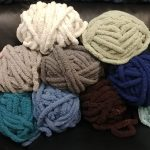Chunky Blanket Knitting 1/5/2020