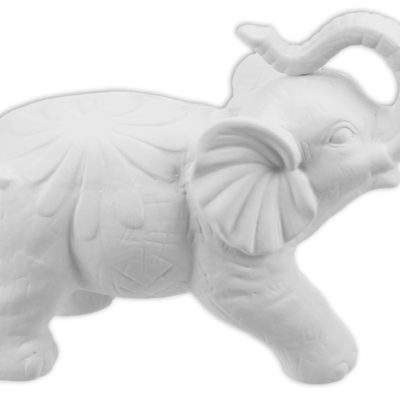 Baroque Elephant Ceramic - pickup only