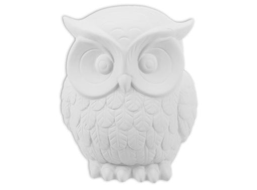 Baroque Owl Ceramic - pickup only