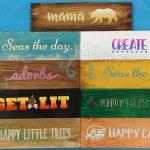 HP Mini Wood Signs 10/19/2019