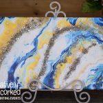 Flow Art Geode