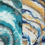 Acrylic Pour Geodes 4Acrylic Pour Geodes 4 at Creatively Uncorked https://creativelyuncorked.com/