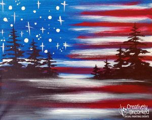 American Sky at Creatively Uncorked https://creativelyuncorked.com/