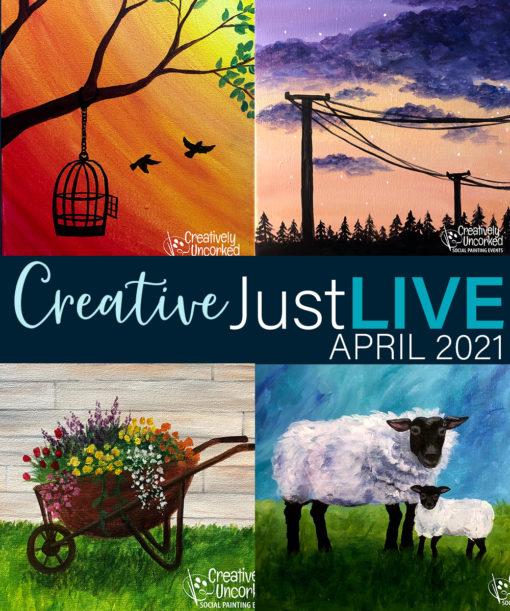 CreativeJUSTlive April 2021