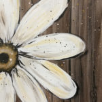 Barn Wood Daisy at Creatively Uncorked https://creativelyuncorked.com/