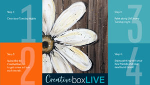Barnwood Daisy CBL from CreativeBoxLIVE by Creatively Uncorked