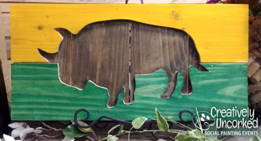 Bison Board at Creatively Uncorked https://creativelyuncorked.com