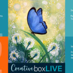 Blue Butterfly CBL Creatively Uncorked https://creativelyuncorked.com/