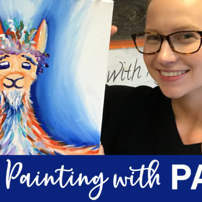 BobLlama Ross On Demand Painting Workshop by Creatively Uncorked https://creativelyuncorked.com/