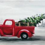 Christmas Tree with Lights @ Santa's Village Fargo