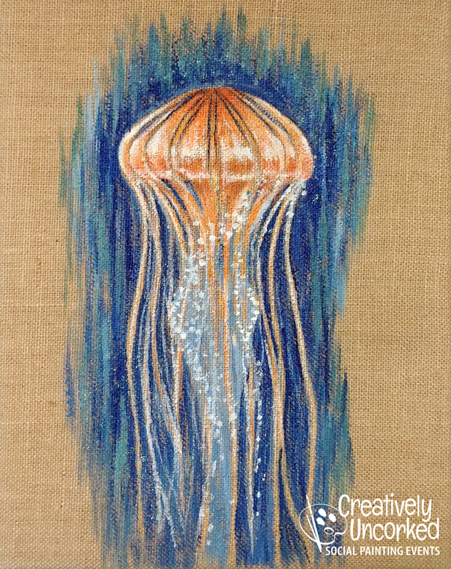 Burlap Jelly at Creatively Uncorked https://creativelyuncorked.com/