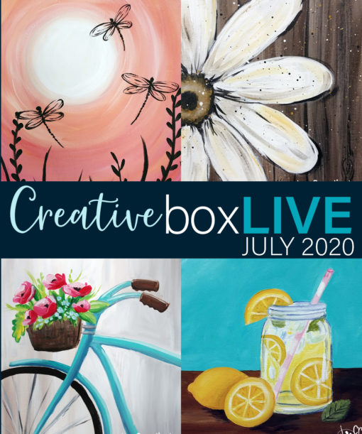 July 2020 CreativeBoxLIVE
