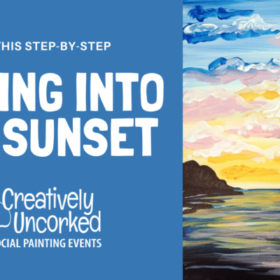 Sailing into the Sunset Virtual Art Kit