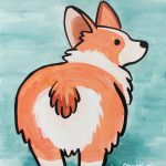 Corgi Butt at Creatively Uncorked https://creativelyuncorked.com
