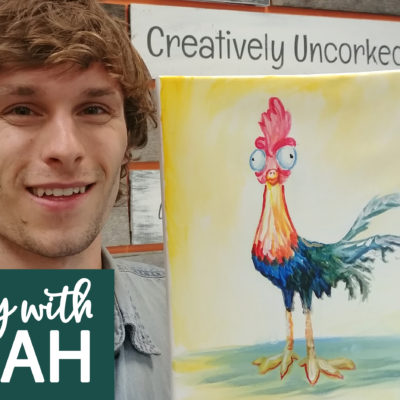 Crazy Rooster Virtual Art Kit