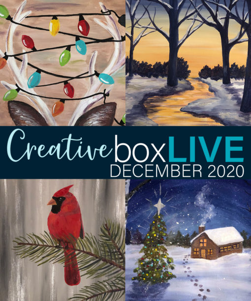 CreativeBoxLIVE December 2020