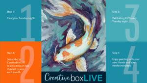 CreativeBoxLIVE Koi