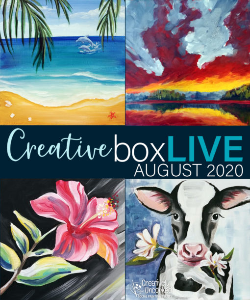 CreativeBoxLIVE August 2020
