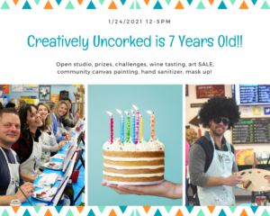 Happy 7th Birthday Creatively Uncorked1
