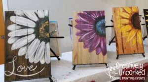 Daisy Board at Creatively Uncorked https://creativelyuncorked.com/