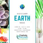 Kids Camp: Earth Week