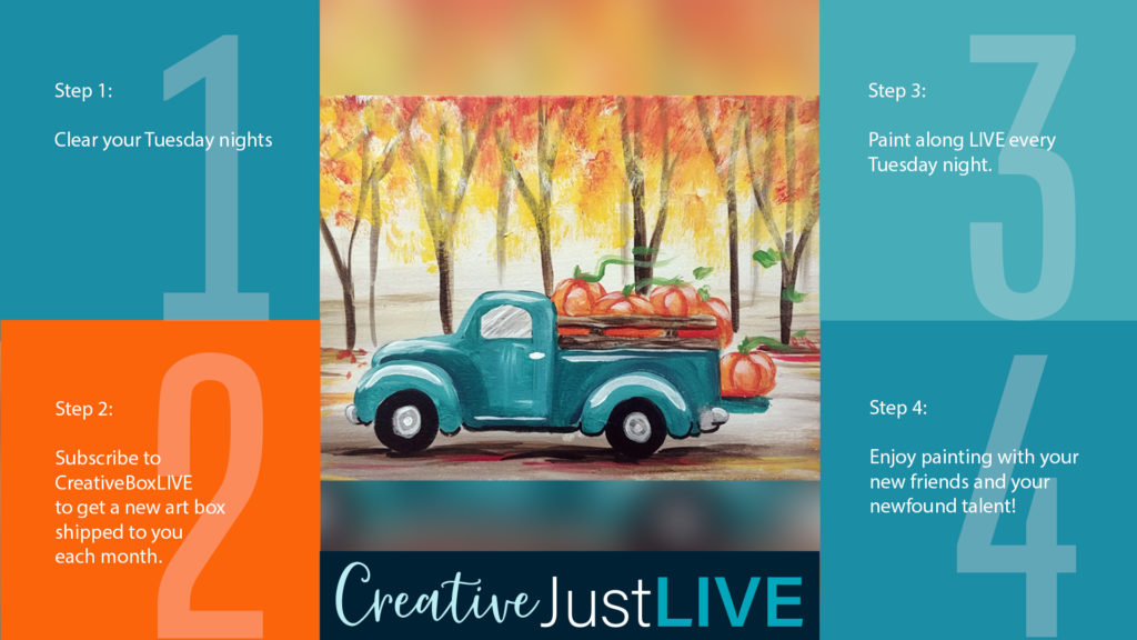 Fall Truck FB from Creatively Uncorked https://creativelyuncorked.com/