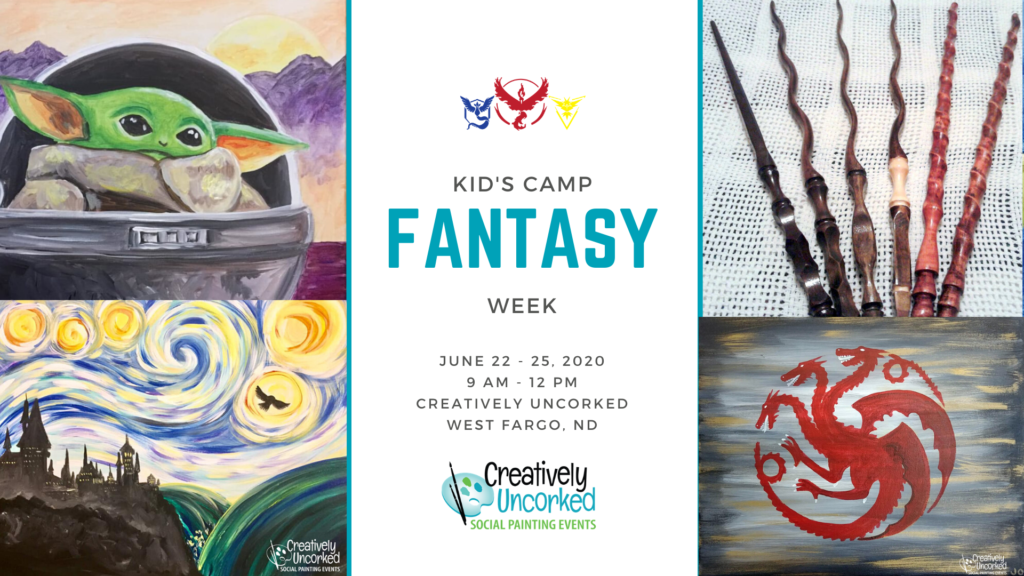 Fantasy Week at Creatively Uncorked https://creativelyuncorked.com/