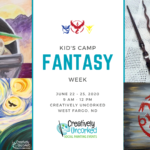 Fantasy Week at Creatively Uncorked https://creativelyuncorked.com/
