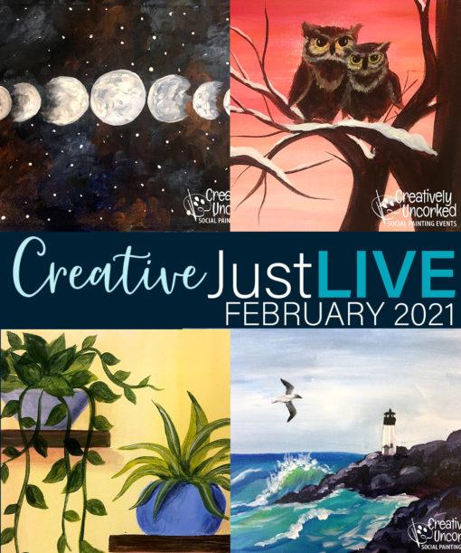 February 2021 CreativeBoxLIVE