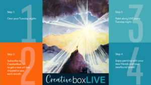 Flood of Sunshine CBL CBL with CreativeBoxLIVE from Creatively Uncorked https://creativelyuncorked.com/