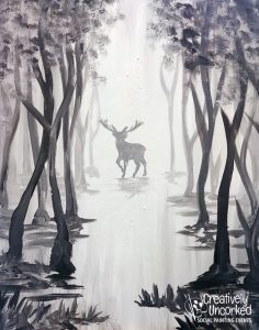 Foggy Moose at Creatively Uncorked https://creativelyuncorked.com/