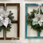 Frame Wreaths at Creatively Uncorked https://creativelyuncorked.com