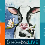 Gilbert the Cow Creative Box Live by Creatively Uncorked
