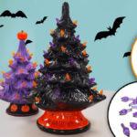 Halloween Ceramic Tree