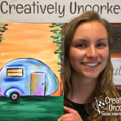 Happy Camper Virtual Art Kit
