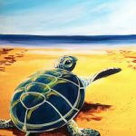 Hello Sea Turtle at Creatively Uncorked https://creativelyuncorked.com/