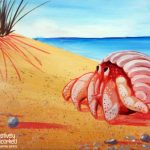 Hermit Crab at Creatively Uncorked https://creativelyuncorked.com/