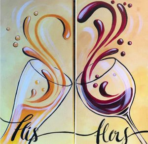 His and Hers Beer and Wine at Creatively Uncorked https://creativelyuncorked.com/