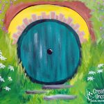 Hobbit Hole at Creatively Uncorked https://creativelyuncorked.com/