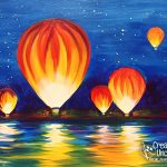 Hot Air Balloons Airing Up