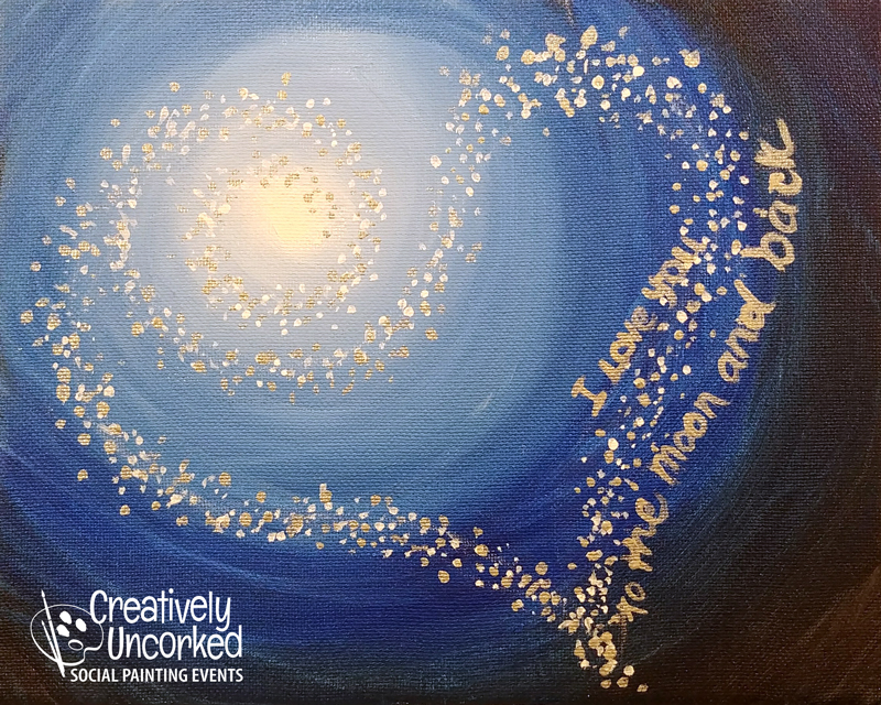 To The (heart) Moon @ Creatively Uncorked https://creativelyuncorked.com/