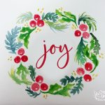 Watercolor Christmas Cards 12/3/2019