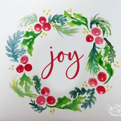 Joy in Watercolor at Creatively Uncorked https://creativelyuncorked.com/