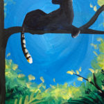 Leopard Silhouette at Creatively Uncorked https://creativelyuncorked.com