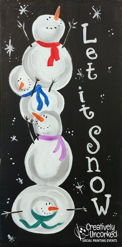 Let it Snow 10x20