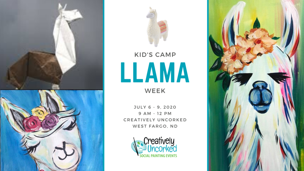Llama Week at Creatively Uncorked https://creativelyuncorked.com/
