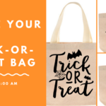 Make Your Own trick-or-treat bag