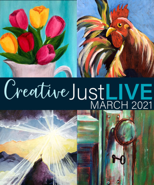 March 2021 CreativeJustLIVE