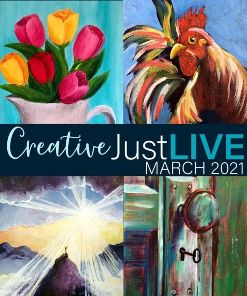 March 2021 CreativeJustLIVE
